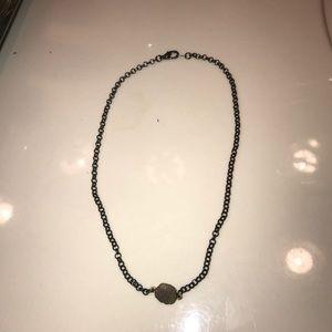 Jewelry - Gunmetal necklace